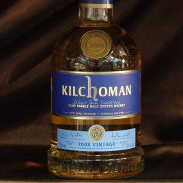 キルホーマン 2008 7年 バーボンバレル、46%