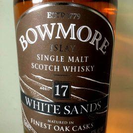 ボウモア ホワイトサンズ 17年、43%